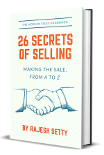 26 Secrets of Selling book